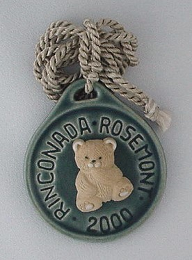 Artesania Rinconada Rosemont 2000 Medallion - photo copyright 2009 CollectiblesRome