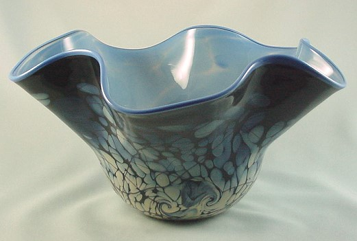 "Fenton Art Glass Frank Workman ""Ocean Fantasy"" - photo copyright 2008 CollectiblesRome"