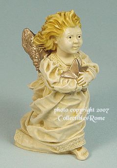 Celeste Angel - 1997 Limited Edition Holiday Angel - photo copyright 2007 CollectiblesRome