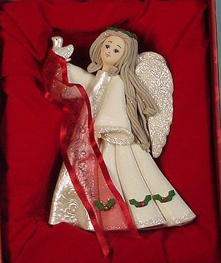 Our First Christmas Angel Ornament - photo copyright 2007 CollectiblesRome