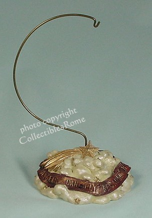 "Boyds ""Above the Stands"" Ornament Stand - photo copyright 2009 CollectiblesRome"