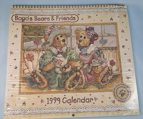 Boyds Bears 1999 Calendar at CollectiblesRome.com
