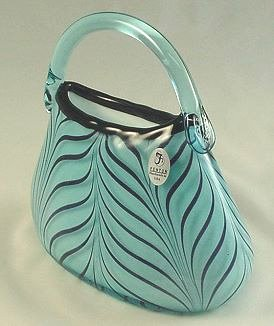 Fenton Glass Dave Fetty Purse - photo copyright 2009 CollectiblesRome