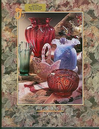 Fenton Art Glass 1997 Catalog